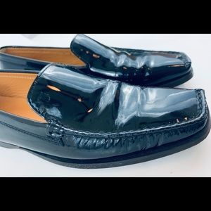 Tod's Patent Leather Driving Loafers 7.5